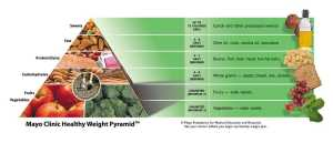 The Mayo Clinic Healthy Weight Pyramid